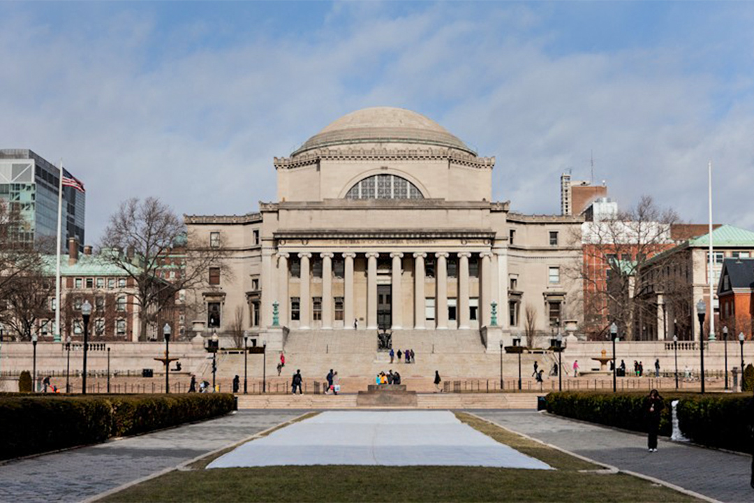 紐約哥倫比亞大學。