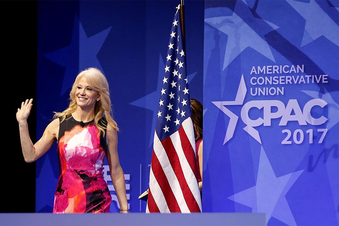 總統顧問康威(Kellyanne Conway)。