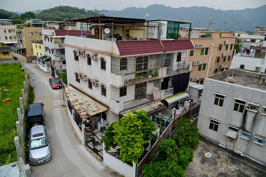 香港新界鄉村。