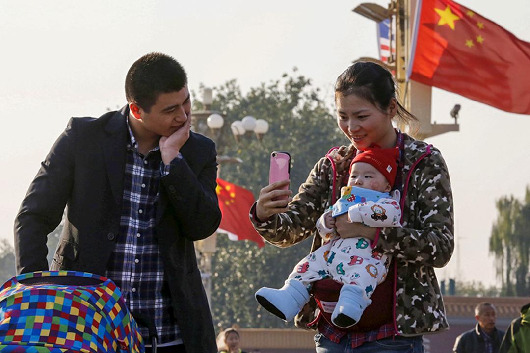 中國政府鼓勵市民生育更多孩子,以防止人口下降。