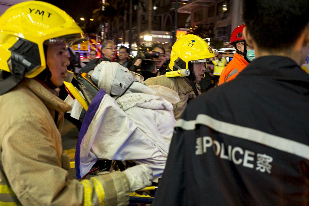 有傷者送往醫院治理。