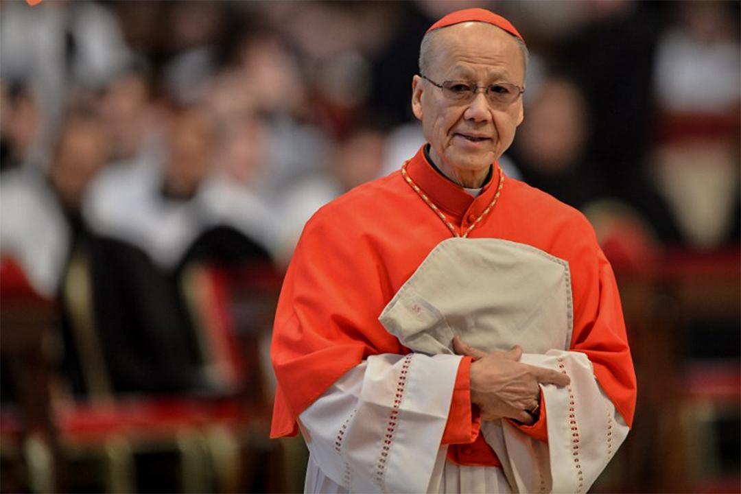 天主教香港教區湯漢樞機。