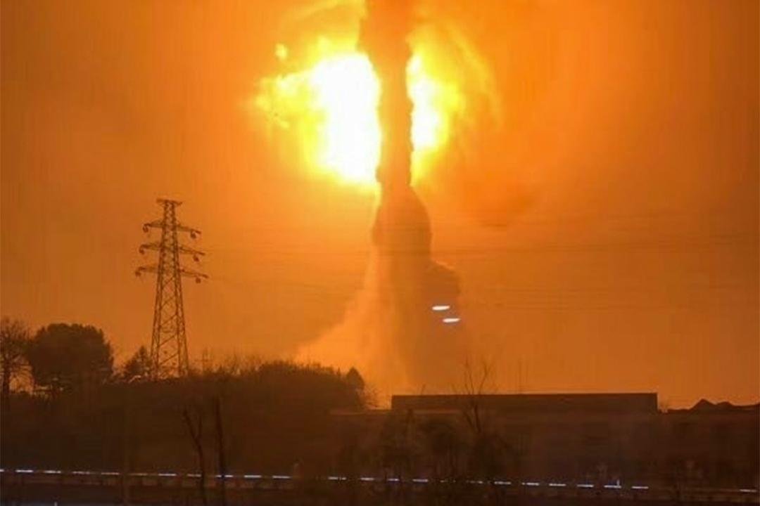 2017年2月8日,安徽省銅陵市化工廠突發爆炸。