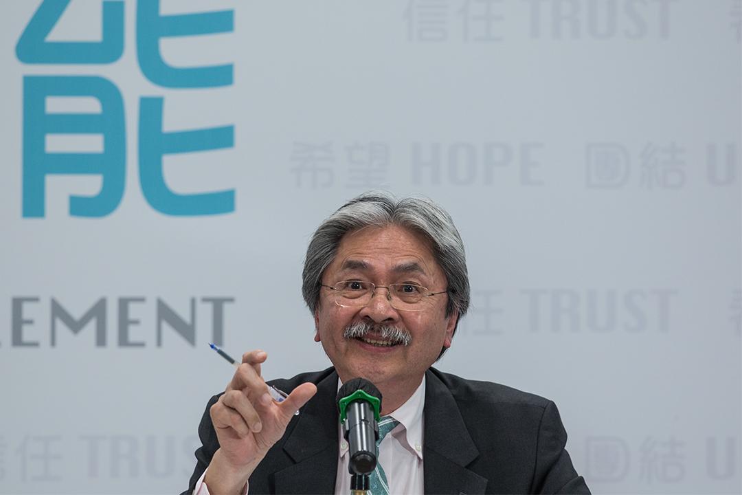 曾俊華指出人大831框架是政改的關鍵環節,不可能迴避。