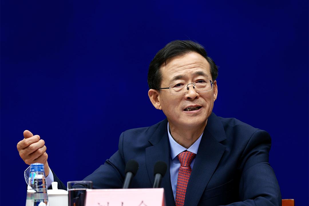中國證監會主席劉士余談論中國資本市場改革。