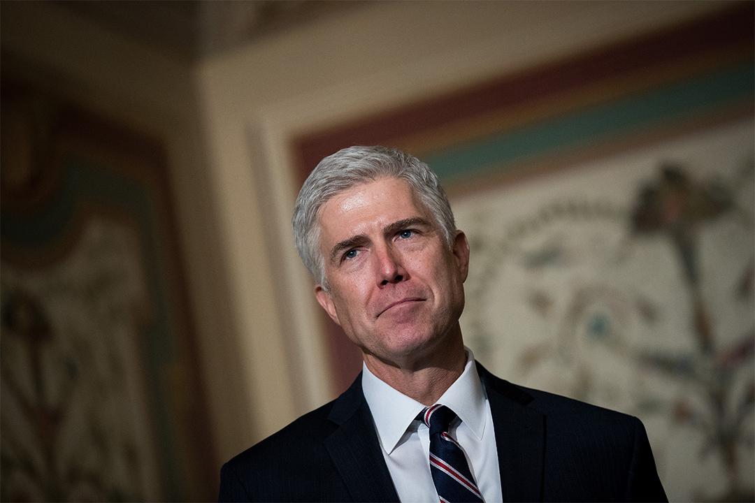 特朗普早前提名的最高法官人選Neil Gorsuch指特朗普對於法律的言論令人沮喪。