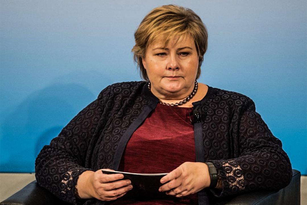 挪威首相瑟爾貝克 (Erna Solberg) 。