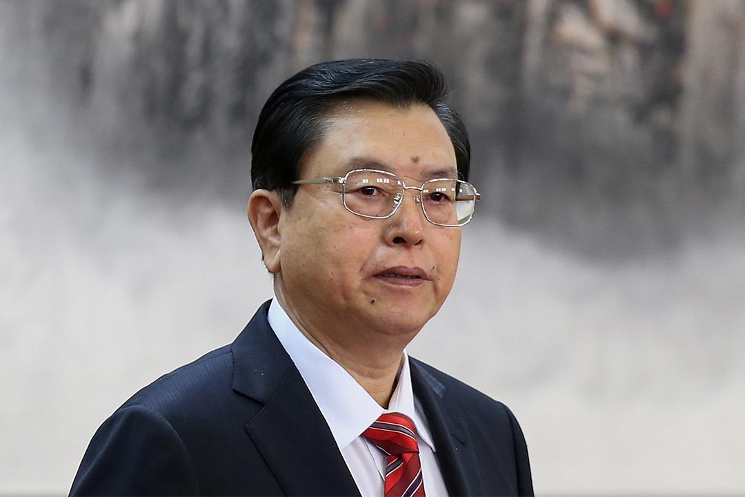 張德江直指特首參選人林鄭月娥是中央唯一支持的人選。