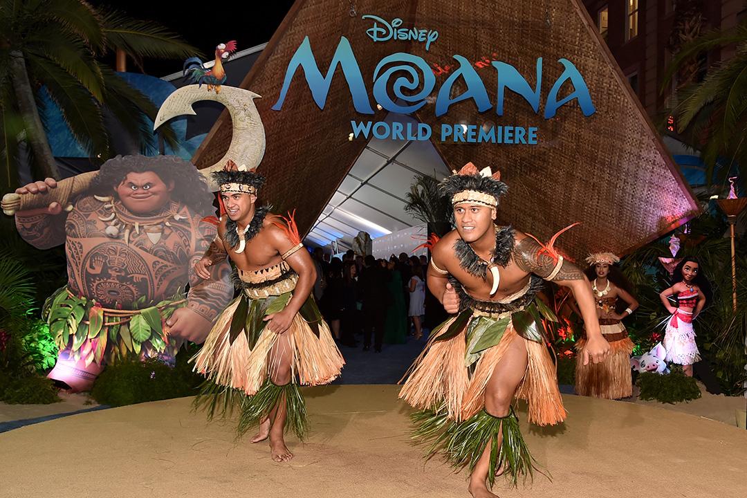2016年11月14日,迪士尼於荷里活舉行電影海洋奇緣MOANA的全球首映。