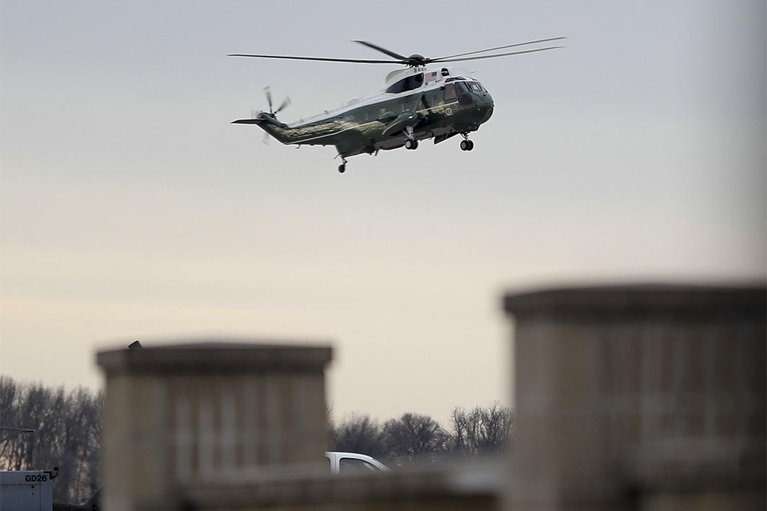 特朗普前往多佛空軍基地與也門襲擊中死亡的William