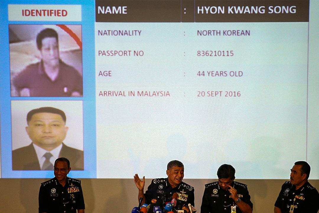 馬來西亞警方指其中一名疑犯是北韓駐馬來西亞大使館二等秘書,另一疑犯是北韓國營航空公司高麗航空的職員。