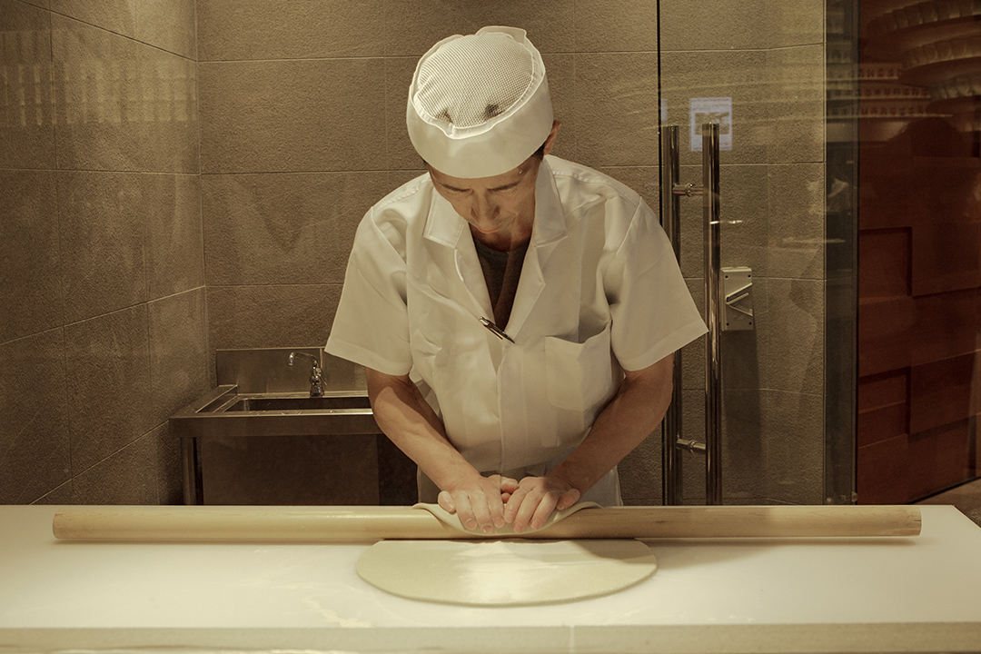 從江戶時代開始,民眾喜歡吃麵。