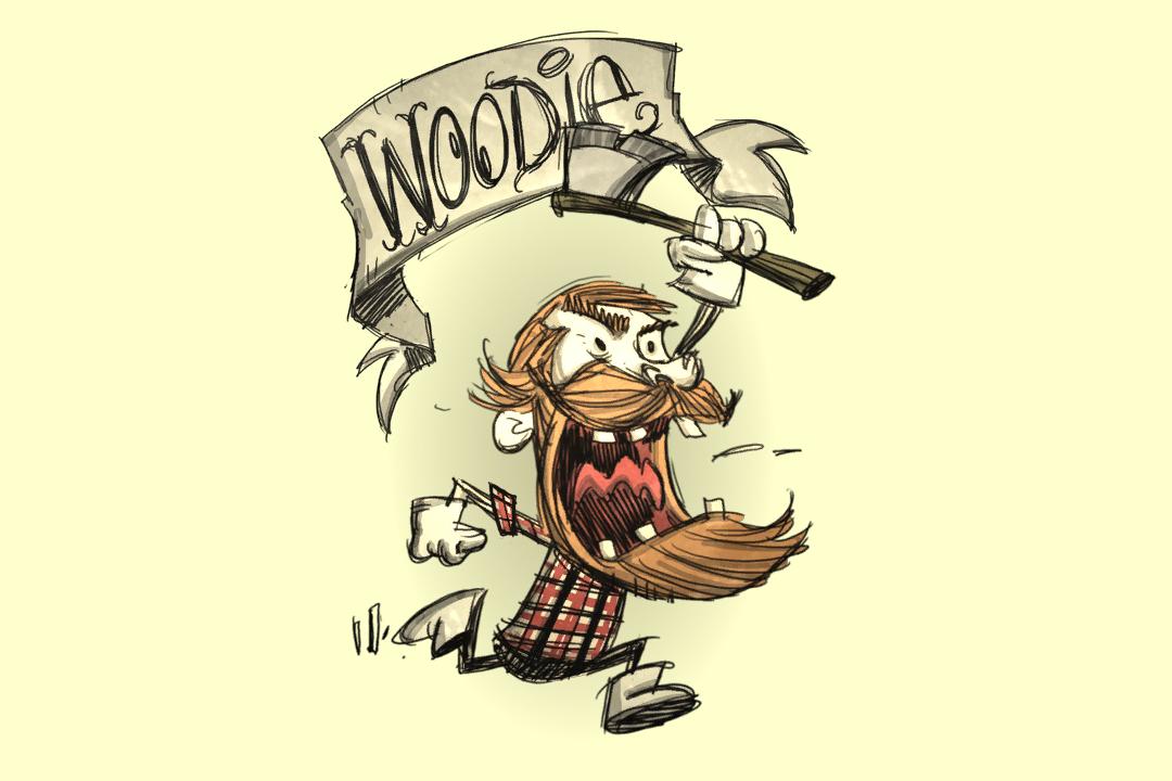 瘋狂的伍迪。