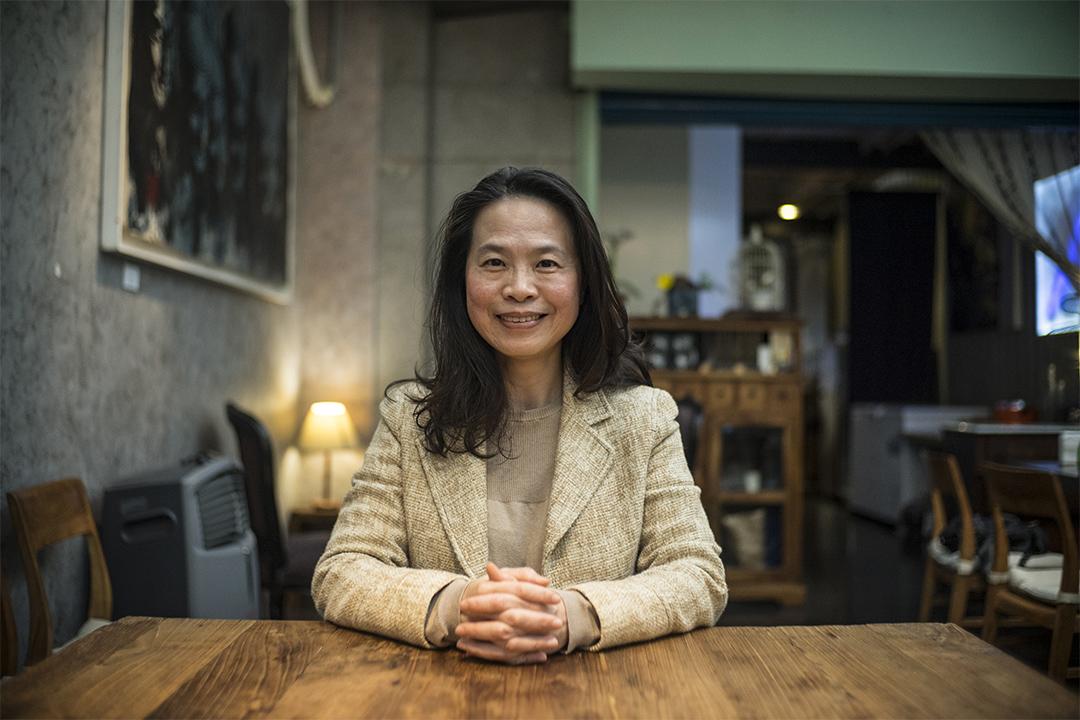 《激越與死滅:二二八世代民主路》作者黃惠君。
