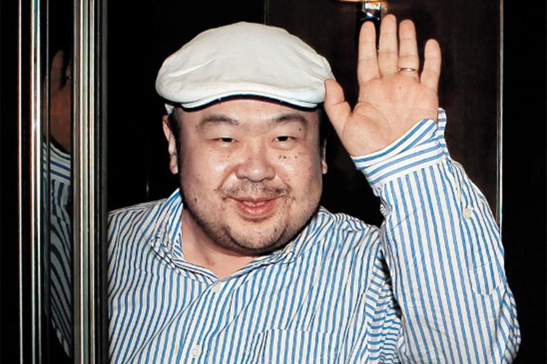 北韓領導人金正恩的長兄金正男。
