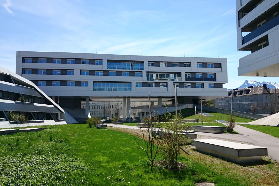 位於薩爾茨堡的混合居住社區「公園生活」(Parklife)。