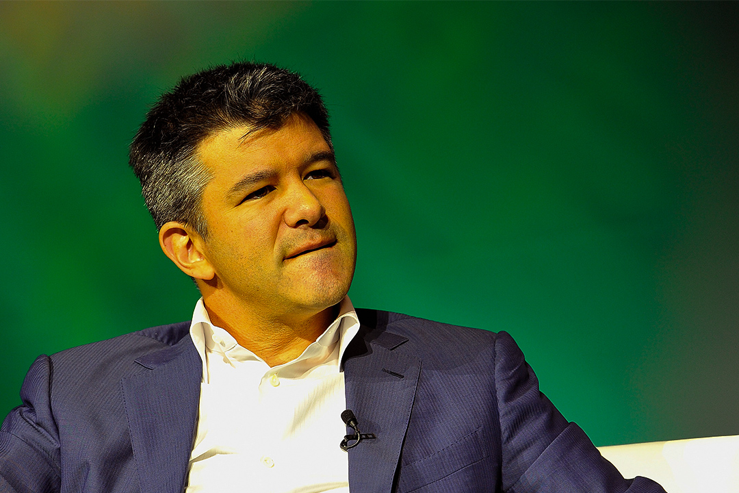 Uber首席執行官Travis Kalanick。