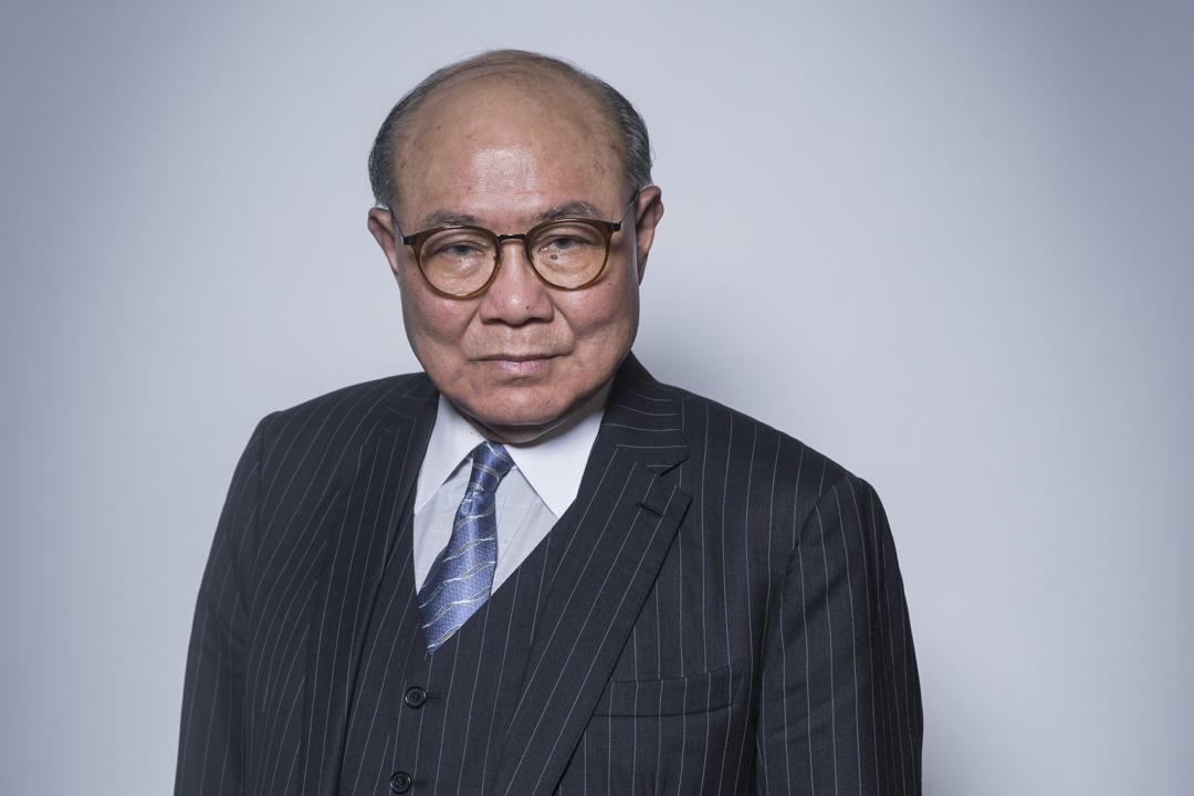 2017特首選舉候選人胡國興。