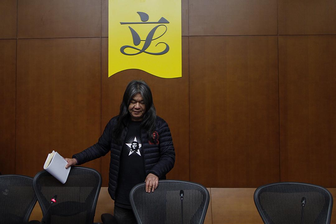 2月8日,社民連立法會議員梁國雄宣佈參選特首。