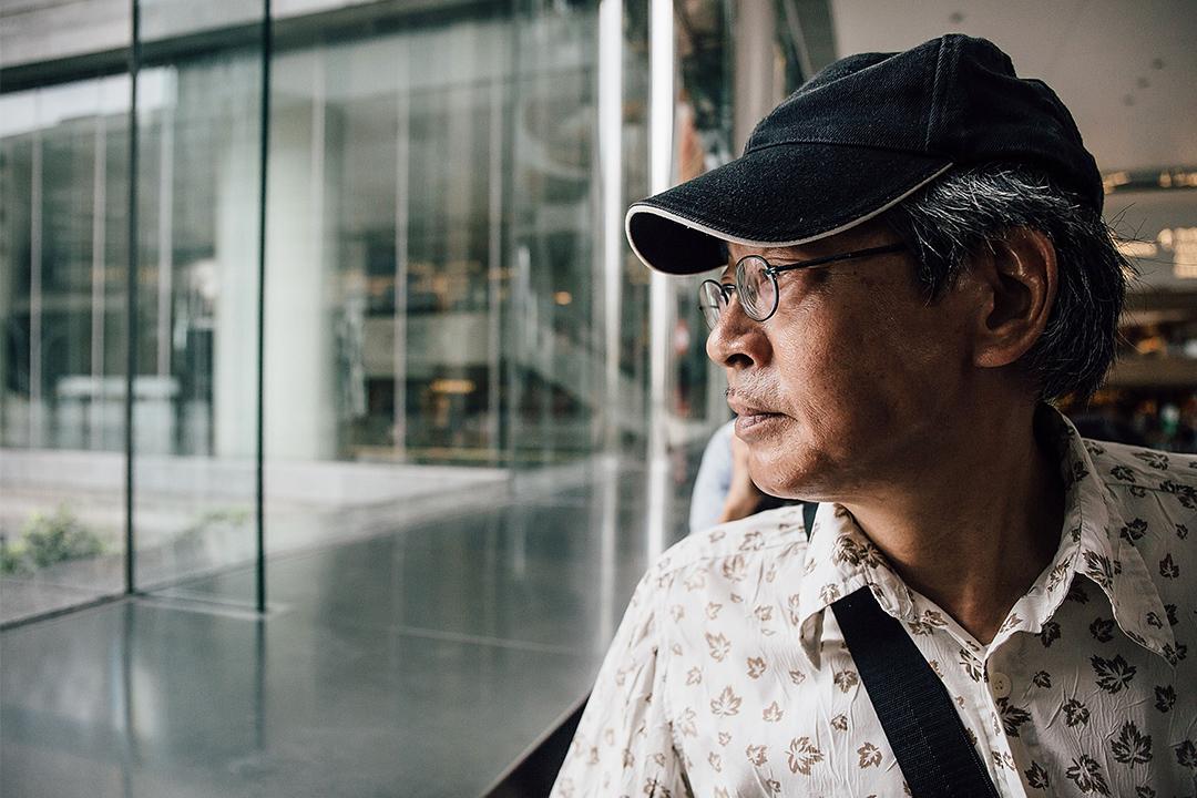 前銅鑼灣書店店長林榮基。