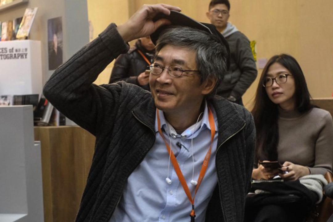 2017年2月9日,林榮基出席台北國際圖書展。