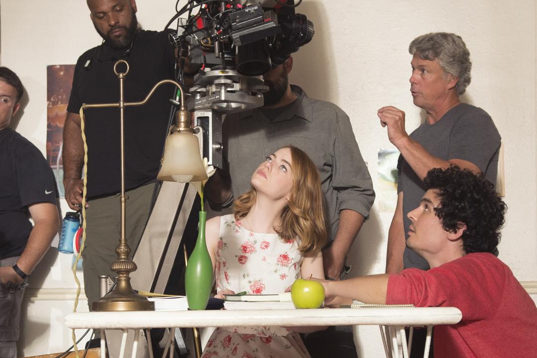 《La La Land》拍攝花絮。