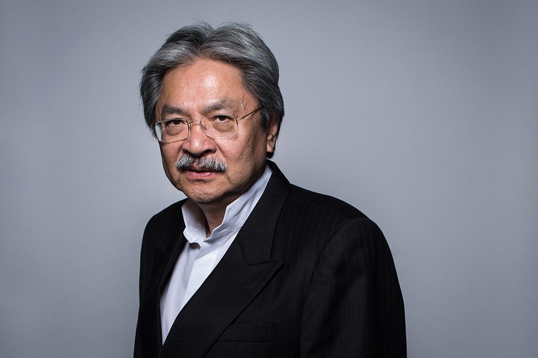 2017特首選舉候選人曾俊華。