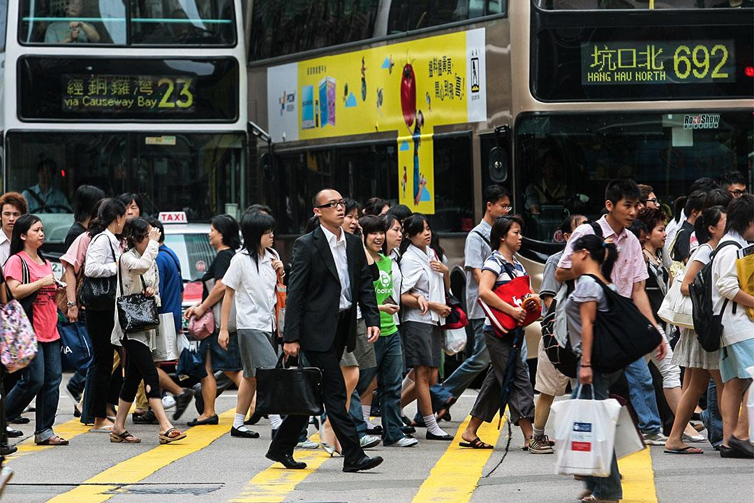 香港街頭。