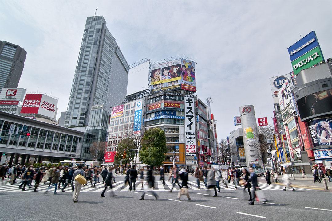 日本通脹和經濟增長持續偏低,年輕人對未來難以樂觀。圖為日本澀谷。