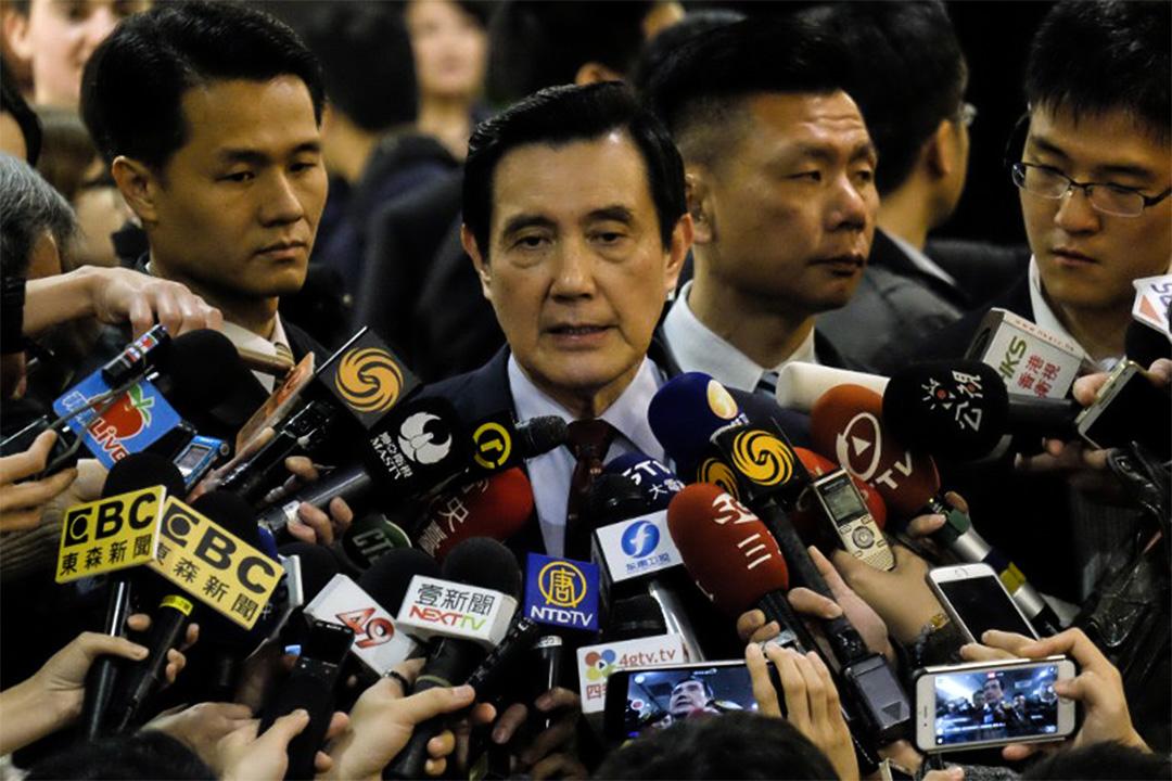 3月14日,馬英九就被台北地檢署以洩密和違反「通訊保障及監察法」等罪名起訴事件回應記者提問。