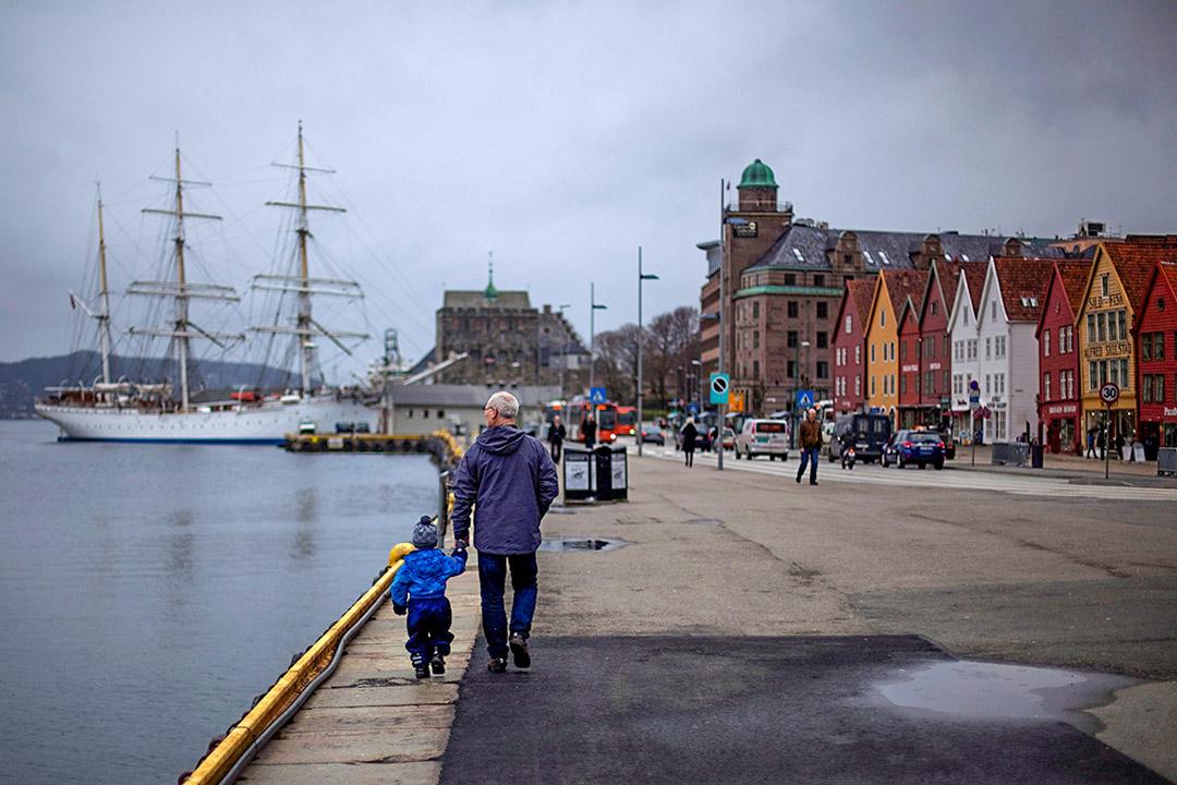 挪威打敗丹麥成為全球最快樂國家。圖為挪威卑爾根海邊。
