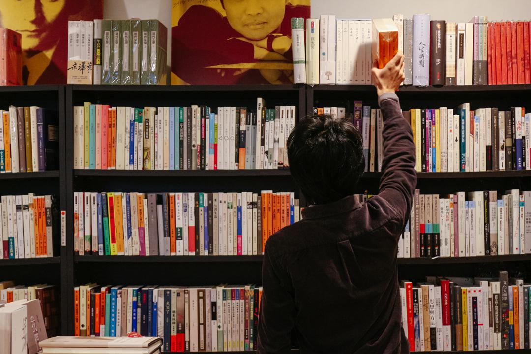 小小書房的店主沙貓:「讓人有一個很舒服的空間擷取想要的東西,將閱讀擴展出去,這是小小所肩負的任務。」