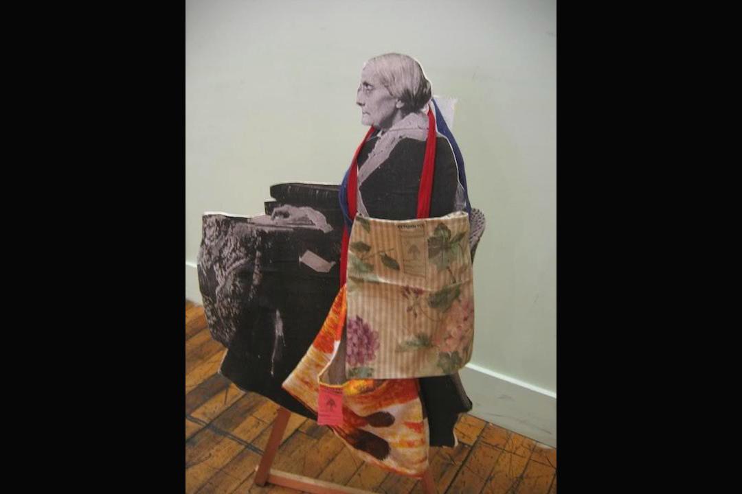 「分享環保袋」計畫中的創意環保袋。