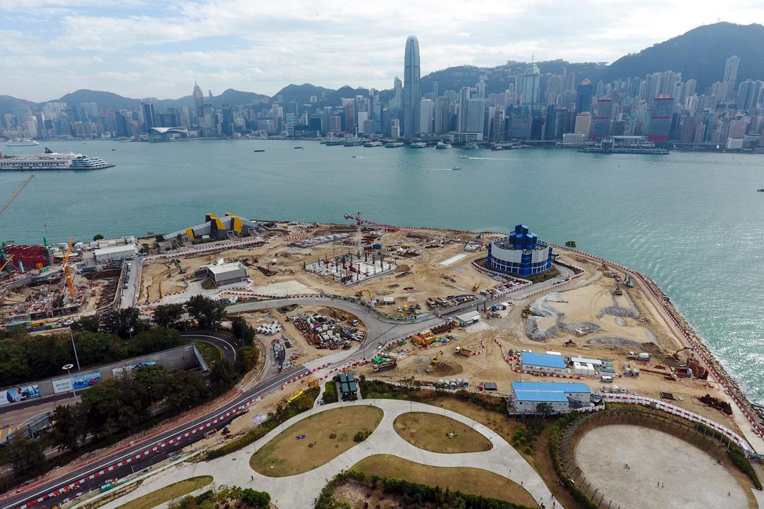 位於香港西九龍填海區臨海地段的西九文化區,將為香港故宮文化博物館所在地。