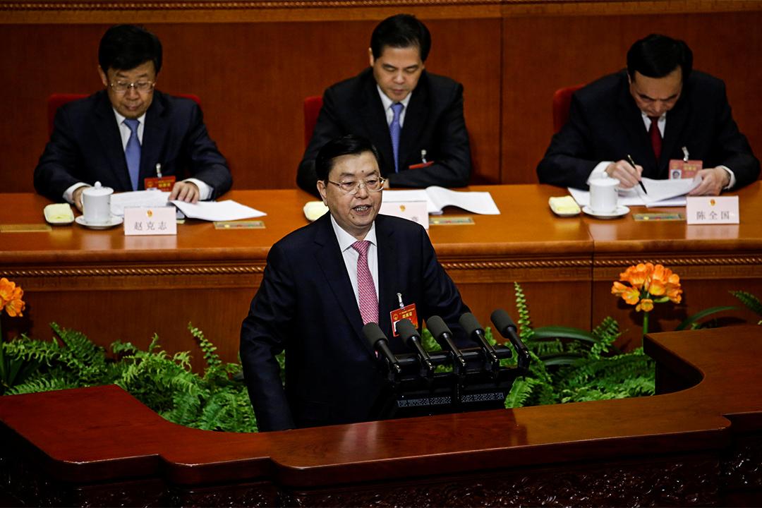 2017年3月8日,張德江報告指明今年內將會成立國家安全法、堅決反港獨及港區人大代表選舉辦法草案新增要求等事項。