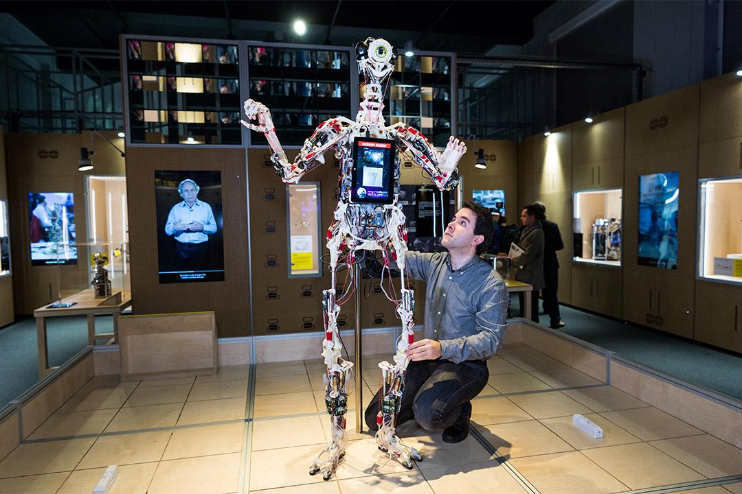 2017年2月7日至9月3日,英國倫敦科學博物館舉辦機器人展覽。