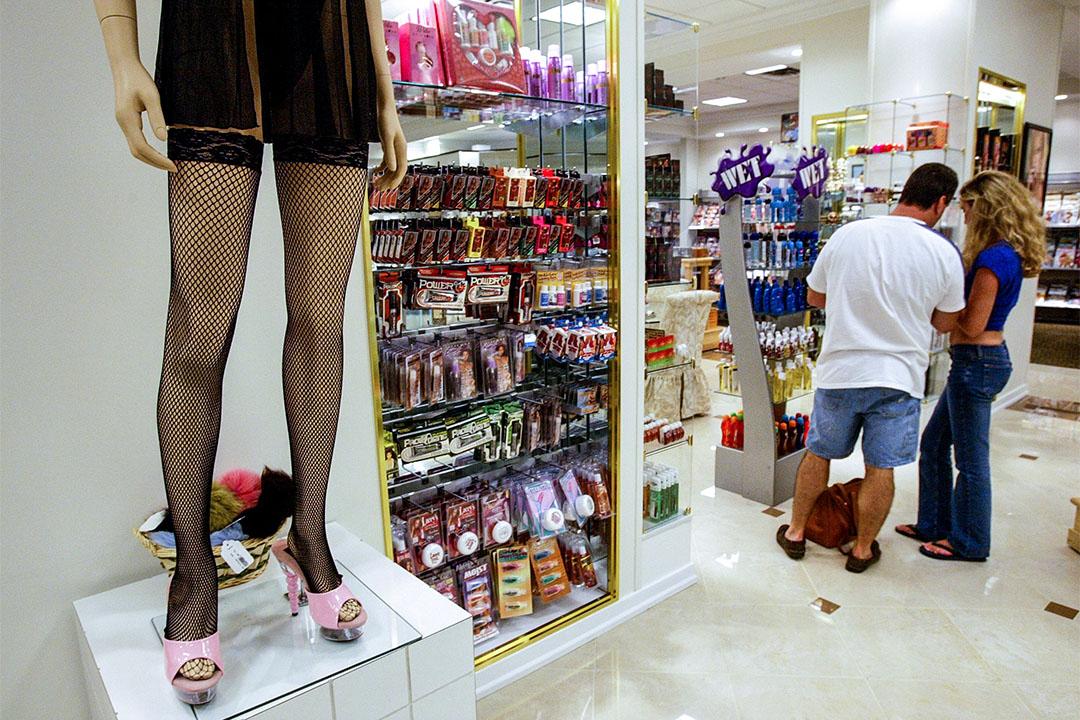 美國康乃狄克州米爾福德一間性用品店。