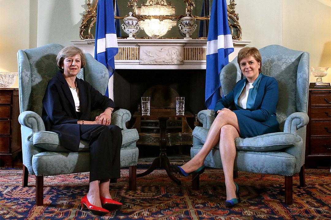 2016年7月15日,英國首相文翠珊與蘇格蘭首席部長施雅晴於蘇格蘭布特大樓會面。文翠珊向施雅晴談及英國脫歐問題,並表示她希望蘇格蘭政府能在與脫歐談判中發揮關鍵作用。