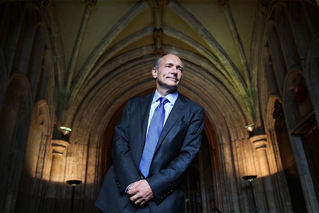 萬維網之父 Tim Berners-Lee。