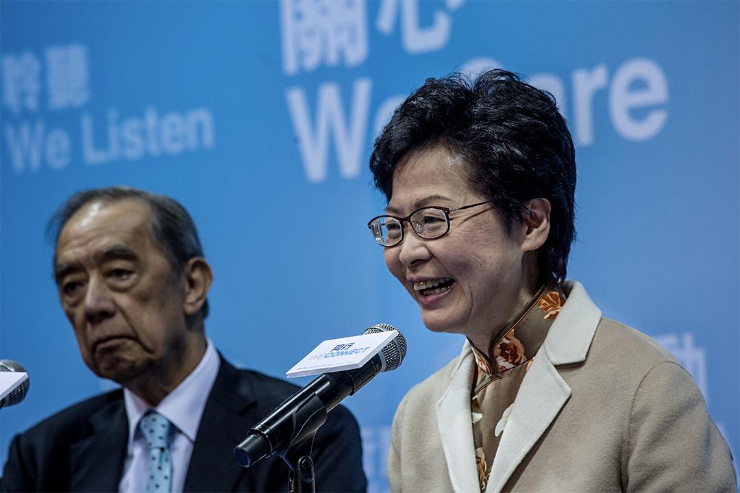 現時以林鄭月娥得到最多提名票參選特首。