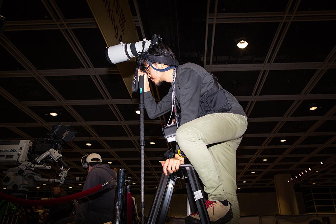 攝影記者。
