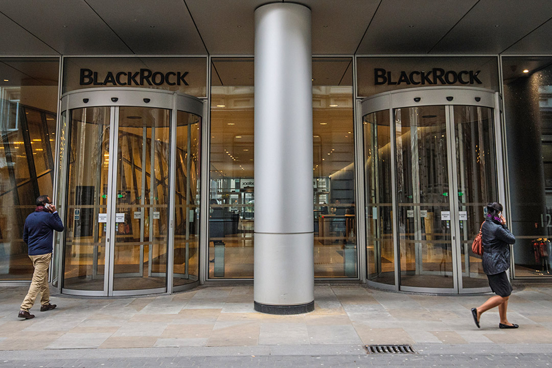 BlackRock英國倫敦總部。