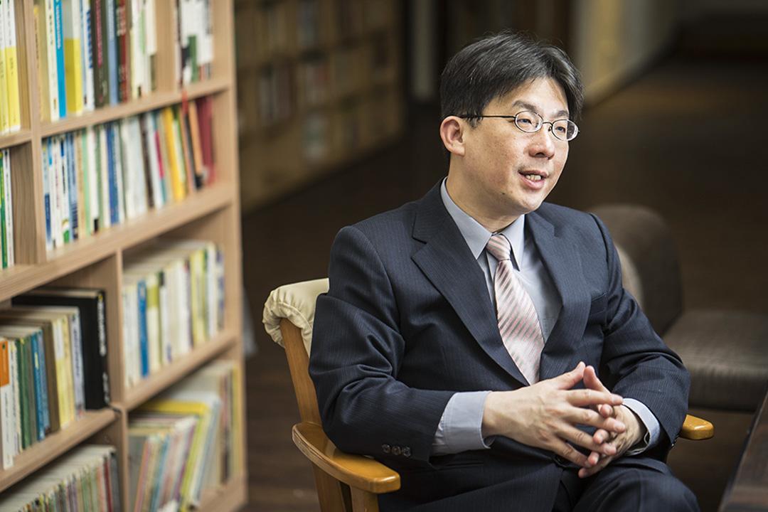 《意外的國度》作者林孝庭。