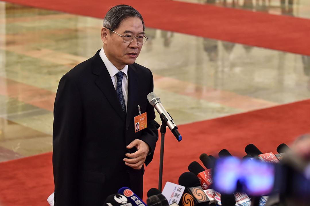 中國國台辦主任張志軍。