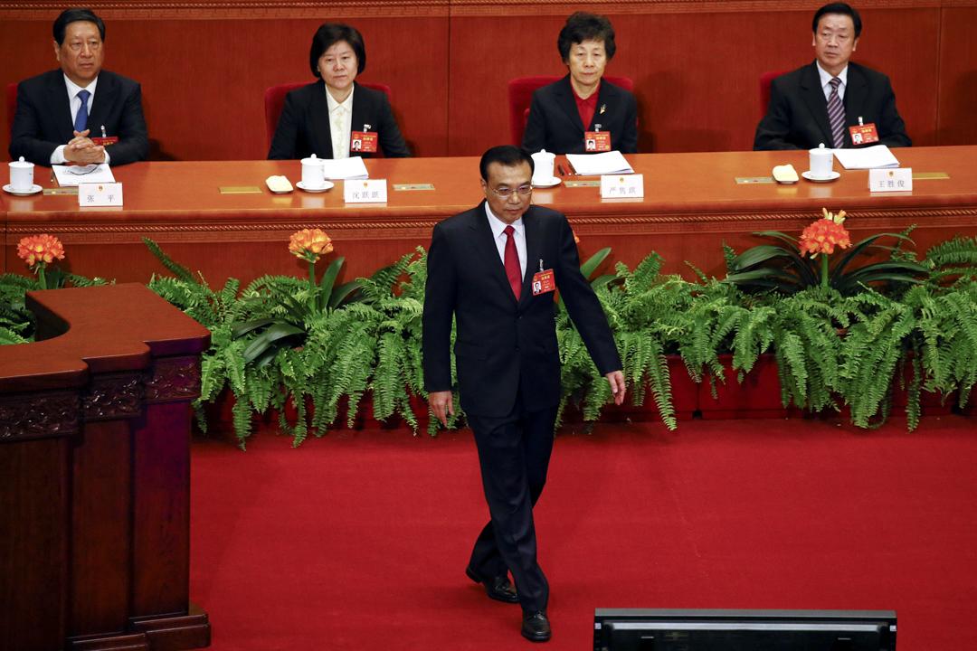 十二屆全國人大第五次會議早上9時在北京人民大會堂開幕,國務院總理李克強發表新一份政府工作報告。