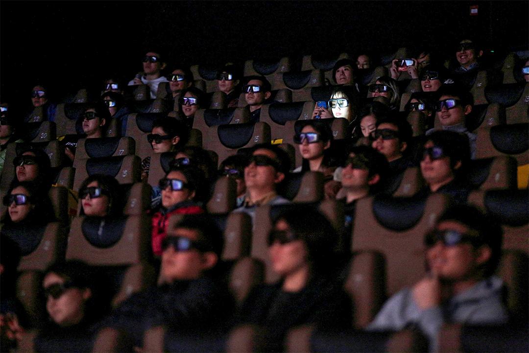 《電影產業促進法》以法律對電影產業的形式、規範及發展等作出了全面規定。圖為中國上海一家電影院內。