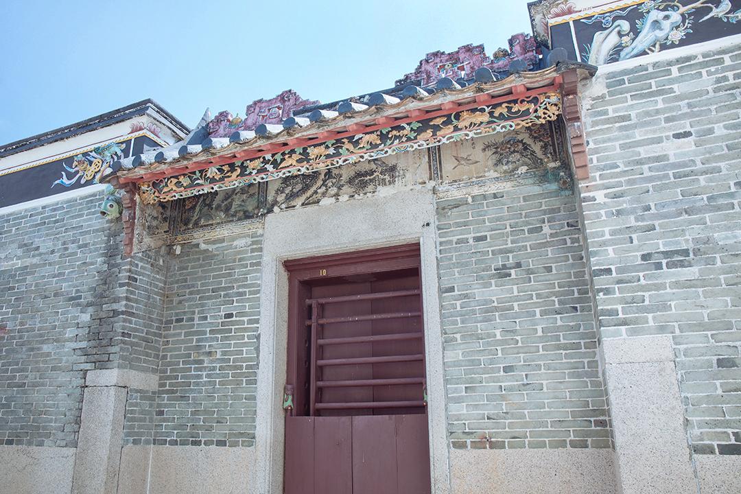 目前保留了的10號民居,已被古物諮詢委員會評為二級歷史建築,逢星期六、日開放給遊客參觀。