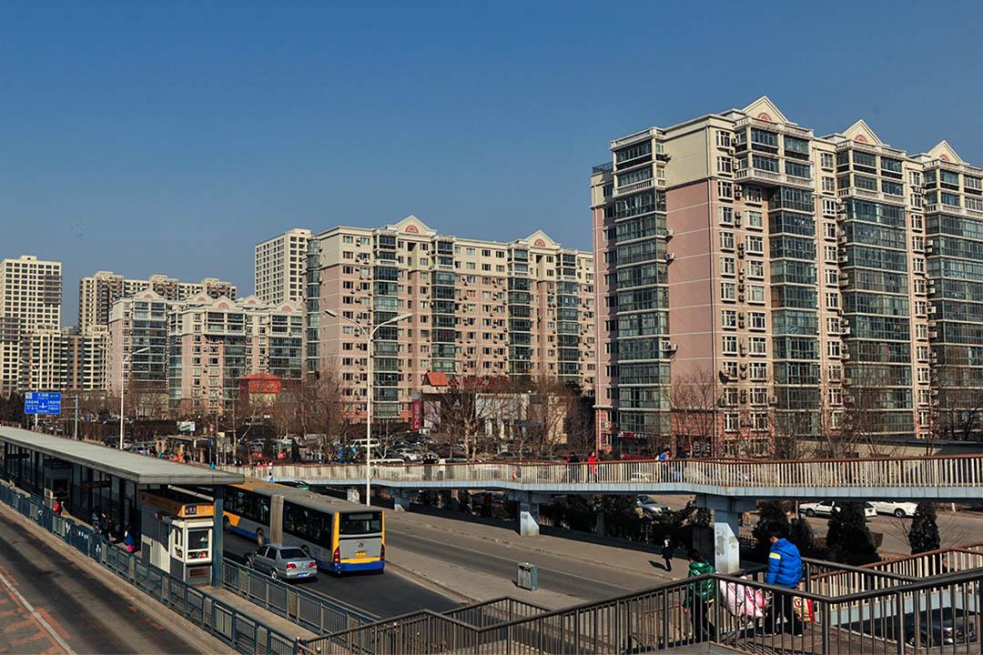北京郊區天通苑。