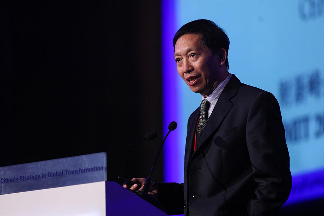 中國經濟學家許成鋼。