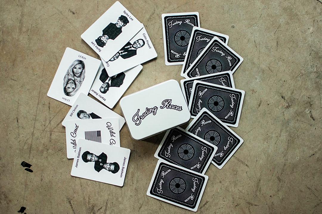 Kenyatta Forbes設計的遊戲卡牌「Trading Races」。